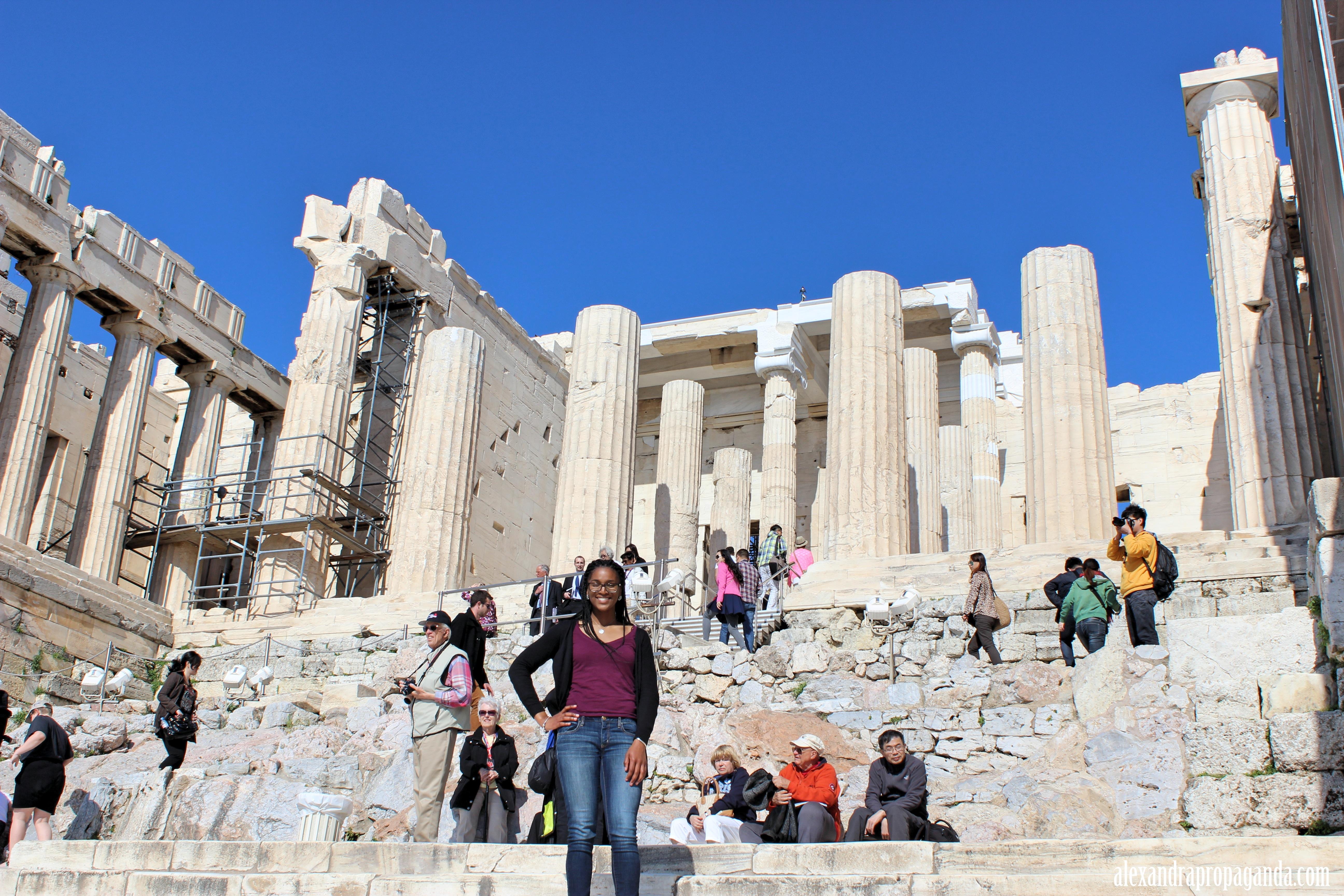 The Acropolis in Athens, Greece  Alexandra Propaganda