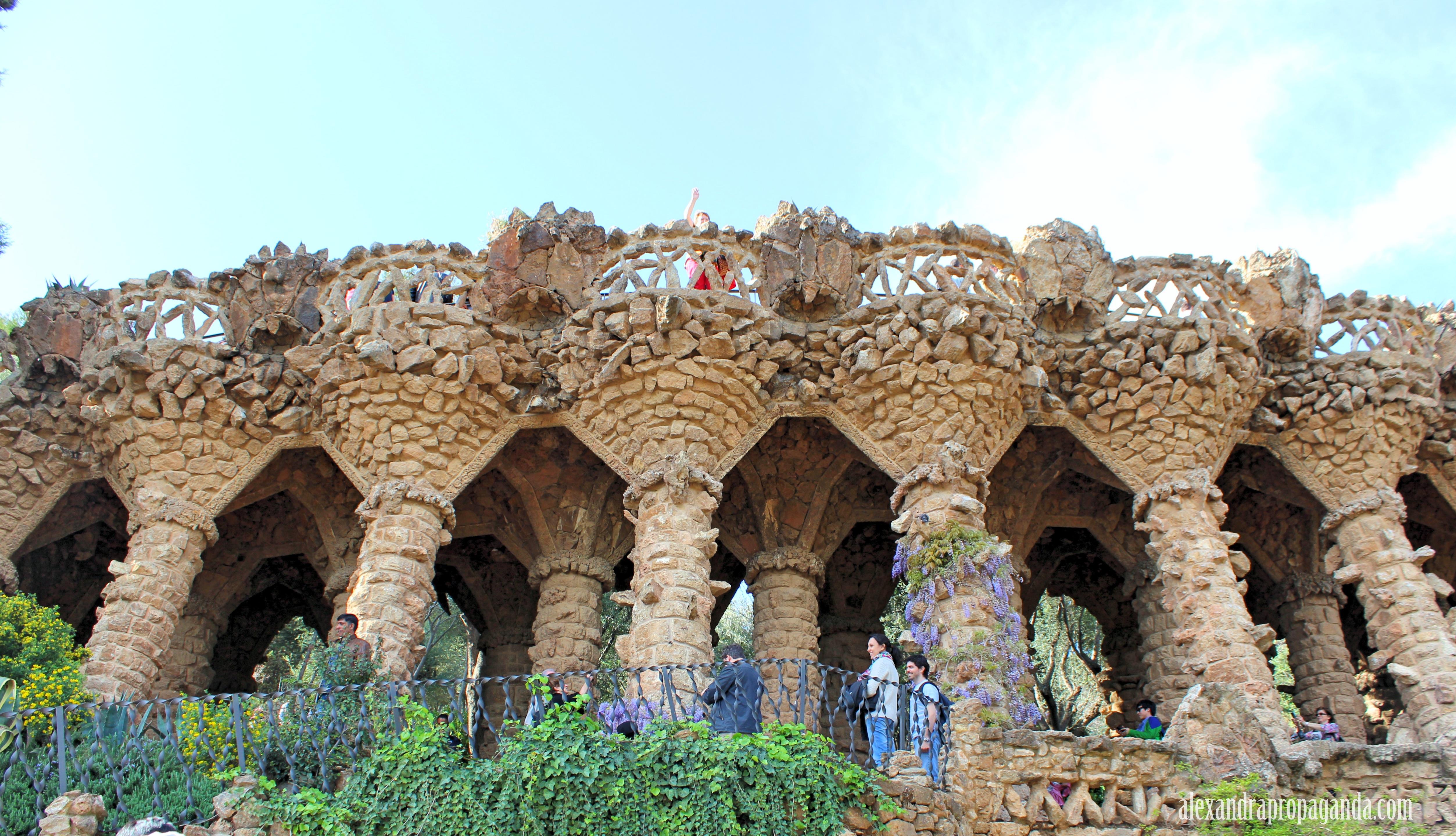 Park Güell and La Sagrada Familia in Barcelona, Spain  Alexandra Propaganda