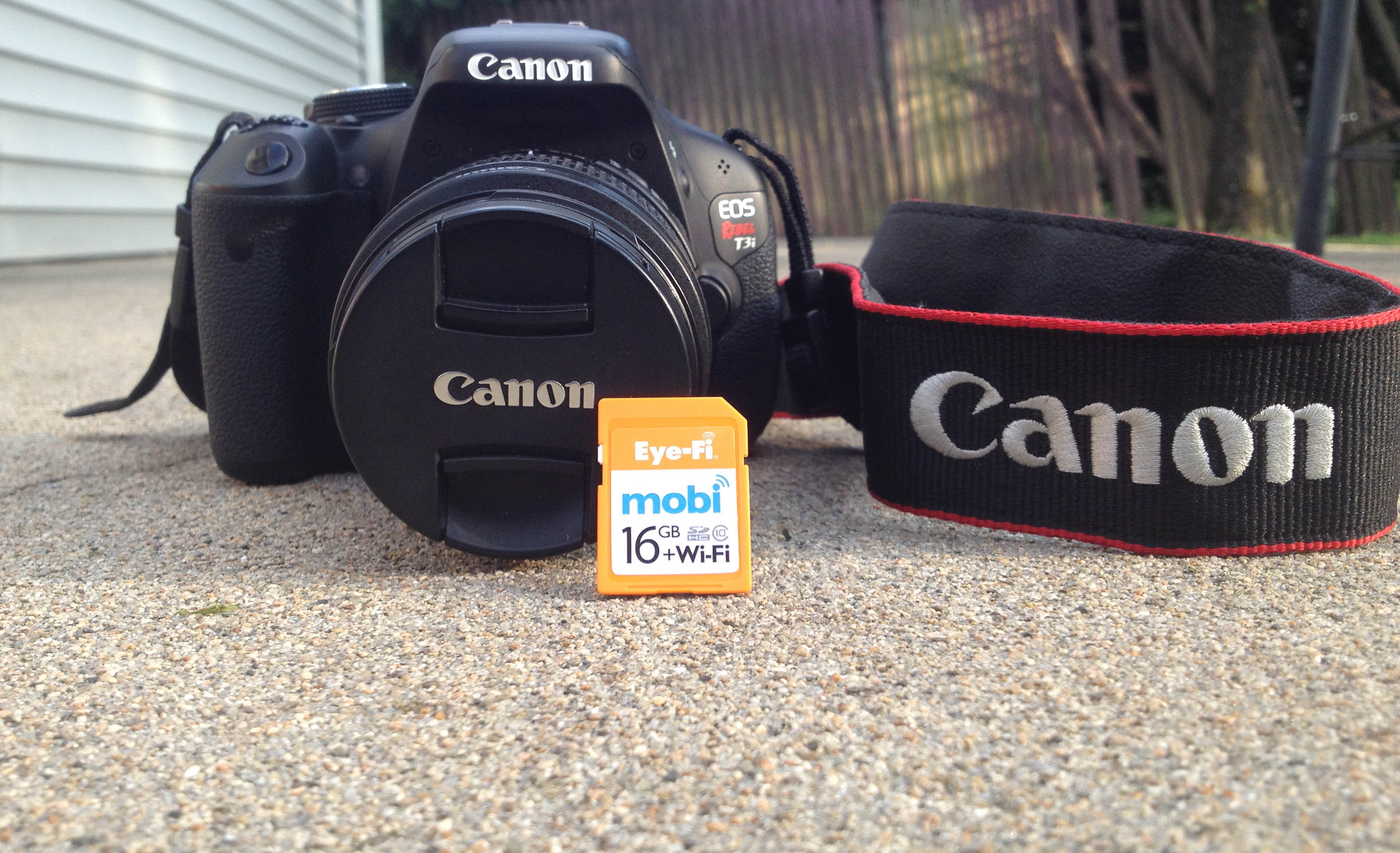 canon eos rebel t3i transfer pictures to iphone